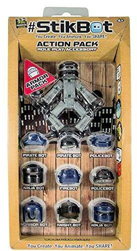 StikBot Action Pack Accessory Set Helmet Pack by (Set Accessory Pack)