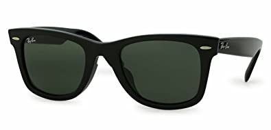 b3fb7ef73f Image Unavailable. Image not available for. Color  Ray Ban ORIGINAL WAYFARER  ASIAN FIT RB 2140F 901 52mm BLACK ...