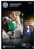 HP Advanced Glossy Photo Paper, 100 x 150 mm, 250 g/m2, 100 Sheets