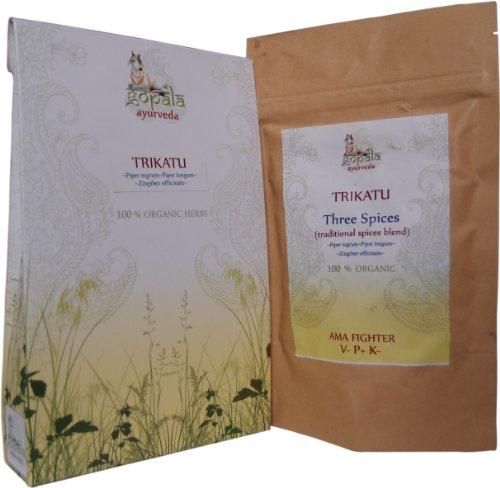 TRIKATU capsules (USDA certifiés biologiques) - 108 Vcaps