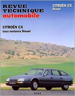 Revue technique automobile, N° 369 : Citroën CX diesel et CX diesel turbo- turbo 2 (French) Paperback