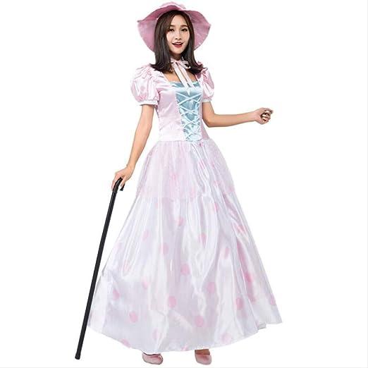 ASDF Traje de Cosplay de muñeca Vestido de Princesa Rosa ...