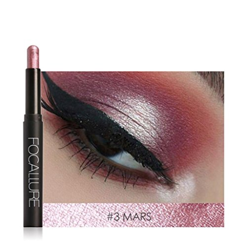 YJYdada Beauty Pro Highlighter Eyeshadow Pencil Cosmetic Glitter Eye Shadow Pen (C) - Highlighter Duo Pencil