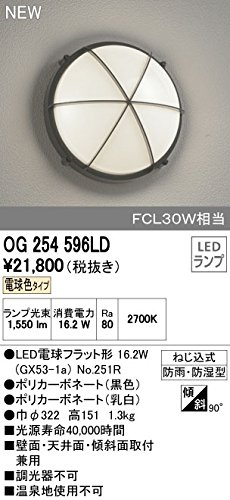 オーデリック エクステリアライト 【OG 254 596LD】【OG254596LD】 B012FJO48C 10595