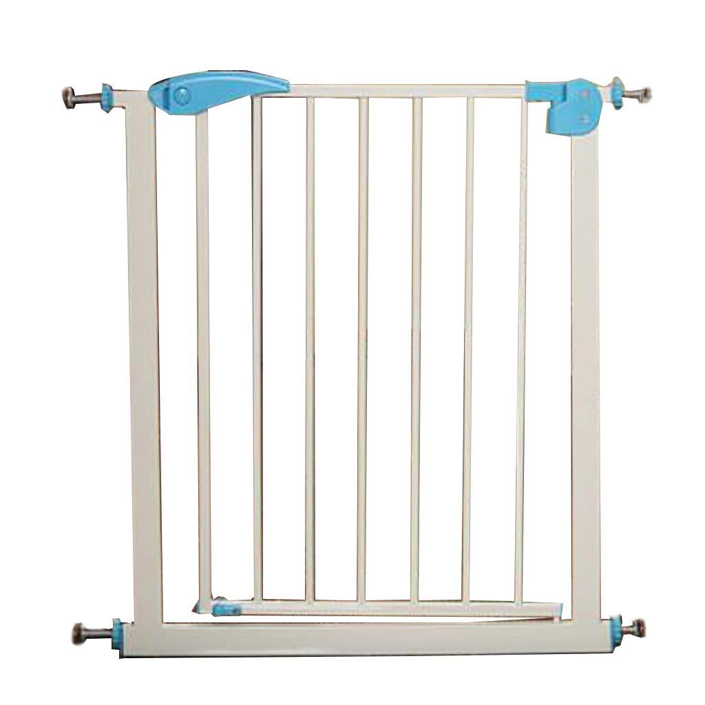 最高の品質の 子供の安全門ガードレール赤ちゃんの階段のセキュリティドア赤ちゃんの保護フェンス犬のフェンスペットの隔離ゲートパンチフリーライトブルー1m高い (サイズ 75-82cm) さいず : 75-82cm) (サイズ : 75-82cm B07GYRLZVN, シズショッピングサイト:7427b07c --- a0267596.xsph.ru