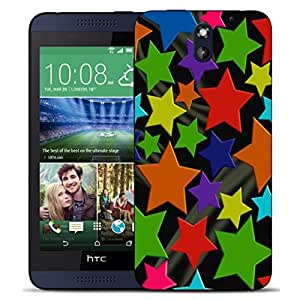 New Hard Printed BEAU ARTS Cover for HTC Desire 610 case - grouped stars & Stylus by ruishername