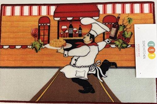 italian chef kitchen curtains - 3