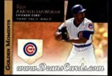 2012 Topps Golden Moments Series 1 # 8 GM Hawk Ties It Wins It Andre Dawson Chicago Cubs (Baseball Card) Dean's Cards 8 - NM/MT Cubs