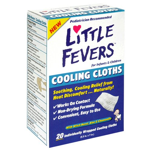 little fevers cooling cloths - 1