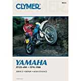 1976-1986 CLYMER YAMAHA ATV IT 125-490 SERVICE SHOP MANUAL M414