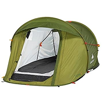 DECATHLON 2 Seconds Pop Up Easy-to-carry Tent Green  sc 1 st  Amazon UK & DECATHLON 2 Seconds Pop Up Easy-to-carry Tent Green: Amazon.co.uk ...