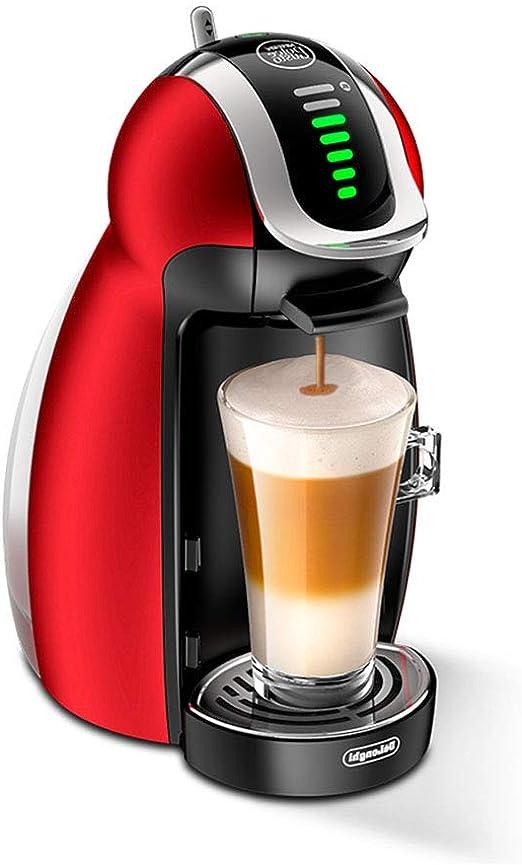Cafetera Máquina de café con cápsulas Comercial Totalmente automática máquina de café integrada en el hogar máquina de Espuma de Leche pequeña: Amazon.es: Hogar