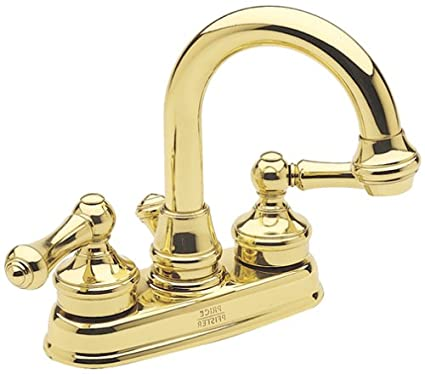 Price Pfister 8h3 80bp Savannah Polished Brass 4 Centerset Bathroom