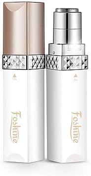 Foshine Depiladora Facial Mujer Portátil Afeitadora Mujer Soft Touch Depiladora (Depiladora Facial Blanca)…: Amazon.es: Salud y cuidado personal