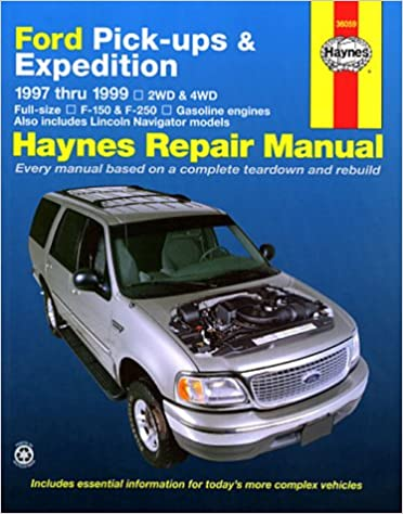 Haynes repair manual ford pick ups expedition 1997 thru 1999 haynes repair manual ford pick ups expedition 1997 thru 1999 haynes jay storer john h haynes 9781563923579 amazon books fandeluxe Choice Image