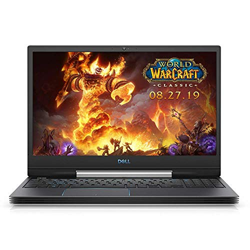 Dell G5 15 Gaming Laptop 15.6″ FHD i7-8750H, 24GB RAM, 1TB SSD+2TB SSHD, GTX 1050 Ti, 6 Cores up to 4.10 GHz, 1920×1080, Backlit, RJ-45 LAN, USB-C, Bluetooth, Webcam, Win 10, White (Renewed)