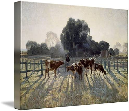 Spring Frost by Elioth Gruner Art Print