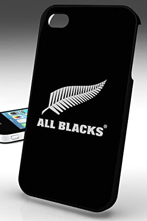 fe909a93d211 Hard case for iPhone 4 4S All official BLACKS All Black  Amazon.co.uk   Electronics