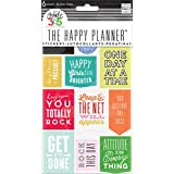 "Me and My BIG Ideas PPS-55 6-Sheets Create 365 The Happy Planner ""Get It Done"" Stickers"