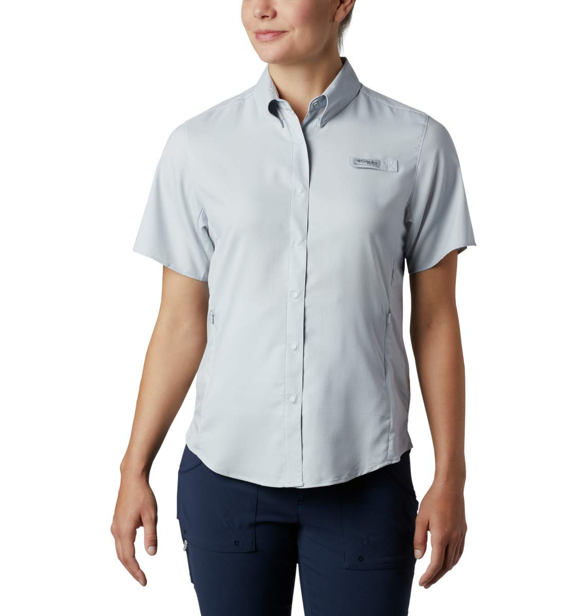 Columbia Women's Tamiami Ii Short Sleeve Shirt, Cirrus Grey, X-Large by Columbia