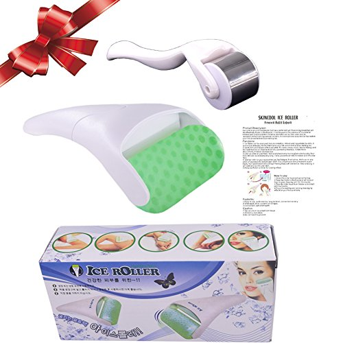 Ice Roller -2 Ice Rollers set Face Body Massage Stainless Steel Wheel/ABS Wheel Prevent Wrinkles Anti Aging for Face & Eye wrinkle Puffiness,Migraine,Pain Relief and Minor Injury by DBlosp (Image #6)