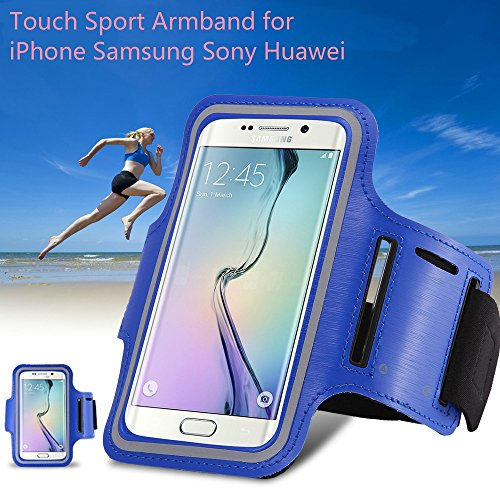 Price comparison product image Waterproof Sport Running Workout Holder Pounch Case For iphone 6 6S 6 Plus 6S Plus Samsung S6 S6 S6 Edge S7 S7 Edge