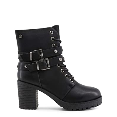 b6a82d2032a Image Unavailable. Image not available for. Color  Xti Women Black Ankle  Boots