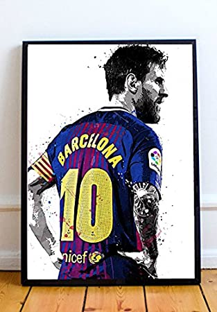 newest collection d488c 2d823 Lionel Messi Limited Poster Artwork - Professional Wall Art Merchandise  (More Sizes Available) (8x10)