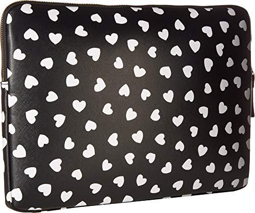 Kate Spade New York Heartbeat Universal Laptop Sleeve, Black/Cream, One Size by Kate Spade New York (Image #1)
