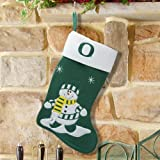 Oregon Ducks Snowman Stocking