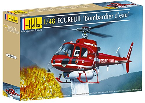 Heller Ecureuil Bombar EAU Helicopter Model Building Kit