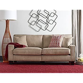 Amazoncom Serta RTA Copenhagen Collection 78 Sofa in Marzipan