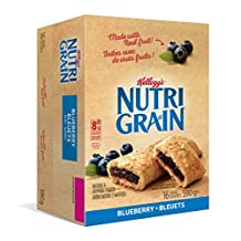 Kellogg's Nutri-Grain Blueberry Flavour 16 bars, 590g box