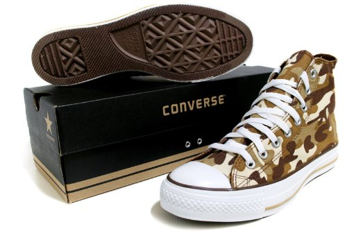Converse Chuck Taylor All Star Prt Hi High-Top Canvas Fashion Sneaker Tan, Natural
