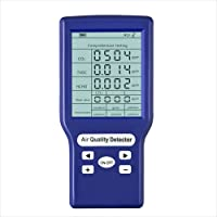 Gecheer Multnctionele CO2-ppm Meter Mini Kooldioxide-detector Gasanalysator Portable Air Quality Tester