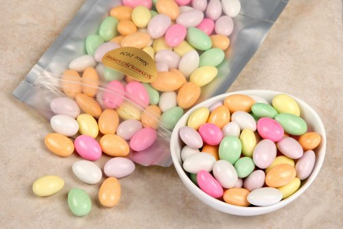 Price comparison product image Assorted Jordan Almonds (1 Pound Bag)