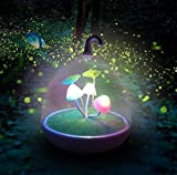 Ultra Magic Garden Portable Nightlight Dimmable Lamp Mushroom Led Sensor Touch Night Lights Low Electricity Consumption LED Night Light for Kids Night Light Baby Children Adul