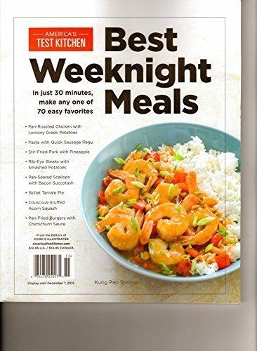 Download Americas Test Kitchen Best Weeknight Meals pdf epub