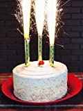 5 pack/20 pcs of Birthday Wedding Bottle/Cake Party Candles Smokeless Indoor/Outdoor Use