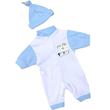 11e953bc6dc0 Premature Early Baby Clothes Romper   Hat Set 1.5