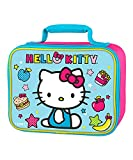 Hello Kitty Standard Lunch Box Pink/Blue