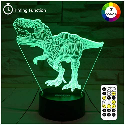 Dinosaur Colors Changing Control Birthday product image
