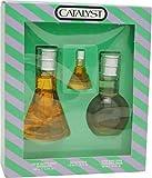 Catalyst By Halston For Men. Set-edt Spray 3.4 Ounces & Aftershave 3.4 Ounces & Eau De Toilette .25 Ounces Mini