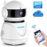 Wifi Camera, SZSINOCAM 1080P FHD WiFi IP Camera Wireless Indoor Camera for Baby/Pet/Nanny Monitor,Night Vision Camera/Zoom Monitor, Pan/Tilt,Two-Way Audio & Motion Detection