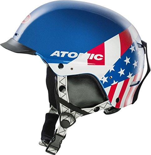 Atomic Troop SL Replica Childrens Snowboard Ski Helmet Blue Large/X-Large (Atomic Ski Helmets)