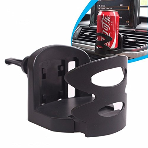 Mount & Holders - Car Outlet Drink Beverage Holder Stand Black For 57-72mm Bottle - 1PCs (57 Days Until Halloween)