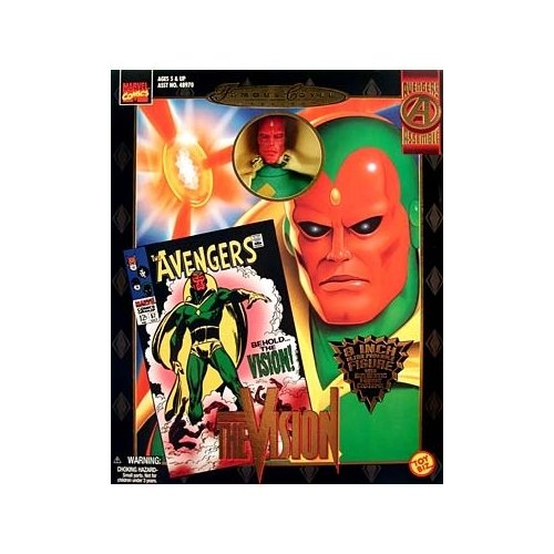 Marvel Comics Famous Covers Vision Action Figure - Marvel Comics Famous Covers