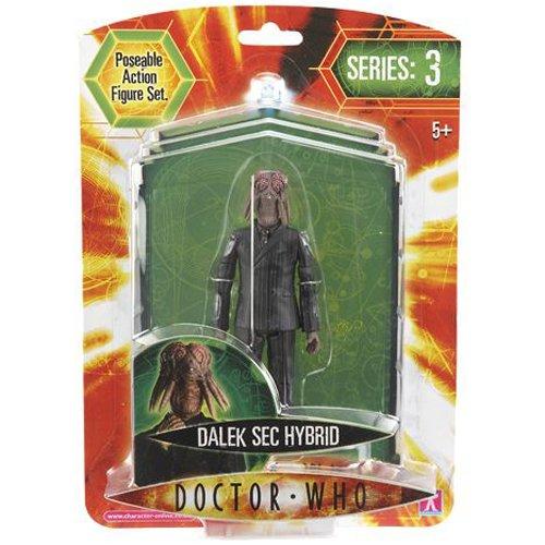 "Doctor Who Series 3 Dalek Sec Hybrid- 5"" Poseable Action Figure"