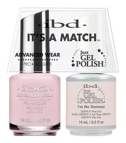 IBD Advanced Wear - It's A Match Duo - I'm No Damsel - 14ml / 0.5oz Each IBDSECONDARY150
