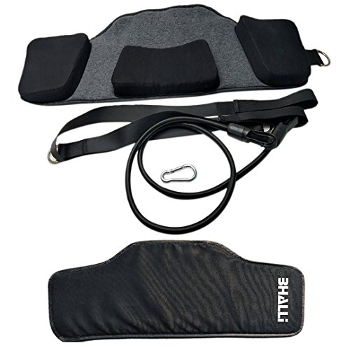 Neck Hammock by BHALLI - Get Natural & Effective Relief from Chronic Neck Pain - Attach This Cervical Traction Device to Any Door/Railing for Instant Results - Affordable Neck Stretcher Support by BHALLI (Image #1)